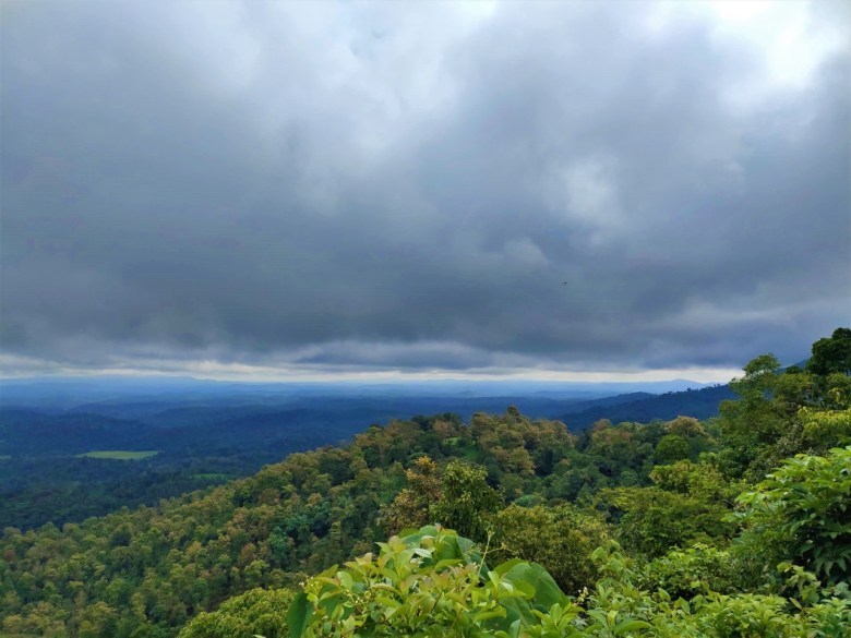 Valley Views En Route Tadiandamol Peak