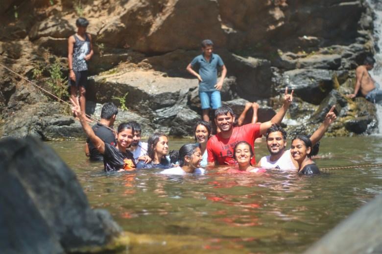 Vibhooti Falls Near Yana Caves