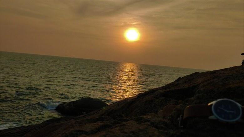 Sunset At Kapu Beach, Udupi