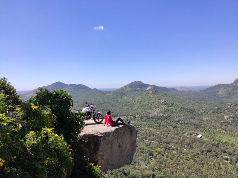 The Cliff View At Devarayanadurga Hills