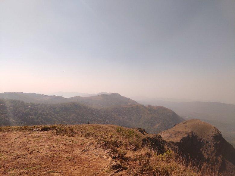 Western Ghats View From Kemmangundi Hills