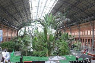 Station Atocha in Madrid, Spain
