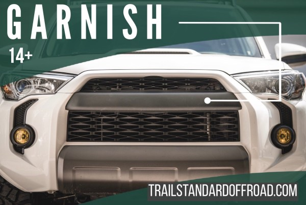 TSO PRO GRILLE COVER with LETTERS