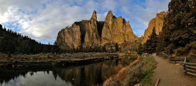 Trail Running Smith Rock State Park Oregon