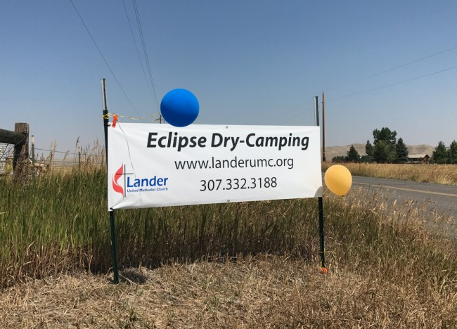 Eclipse Camping!