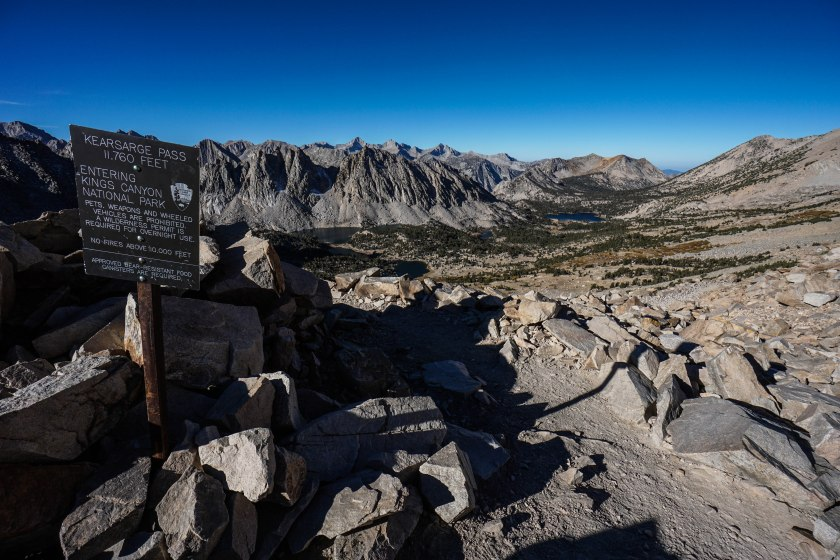 Kearsarge Pass via Onion Valley