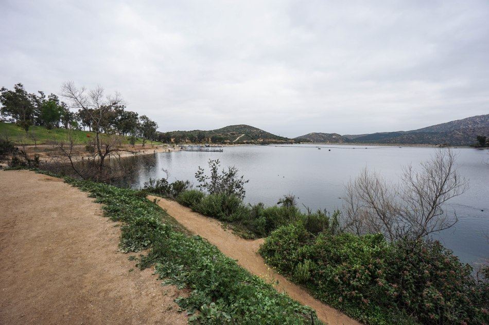 Mt woodson and potato chip rock trail to peak for Lake poway fishing
