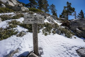 Mt. Baldy via Ski Hut Trail 03.07.15