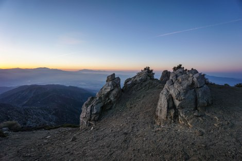 Cucamonga Peak Overnight