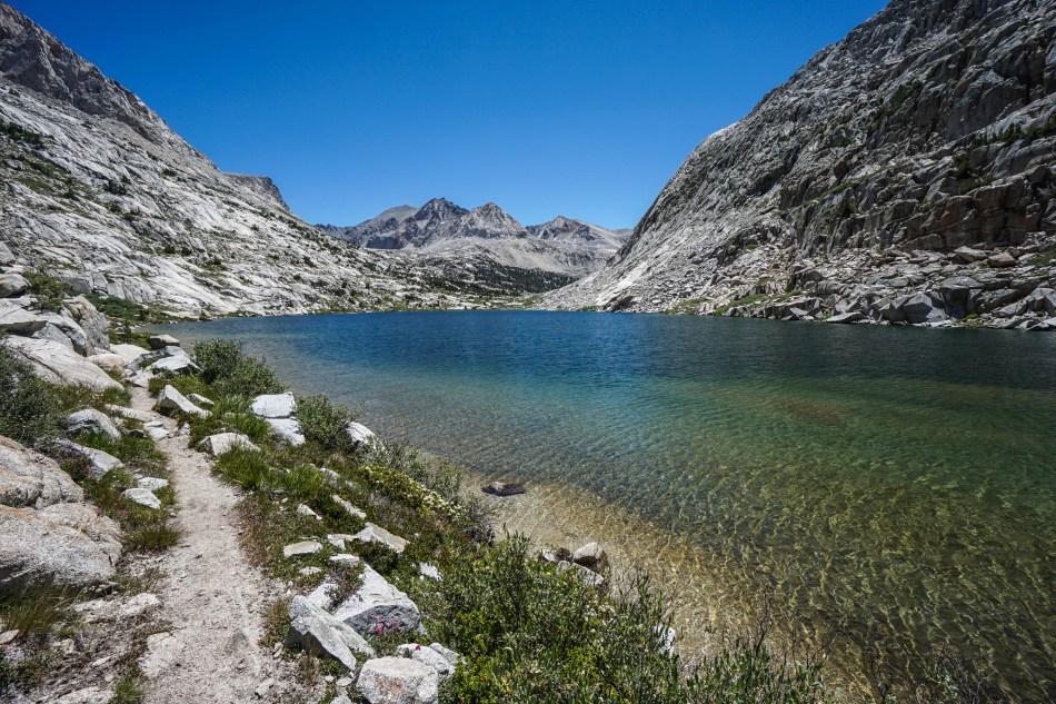 John Muir Trail Mather Pass Lake Marjorie