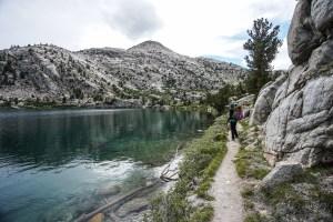 John Muir Trail Rae Lakes Glen Pass Pinchot Pass