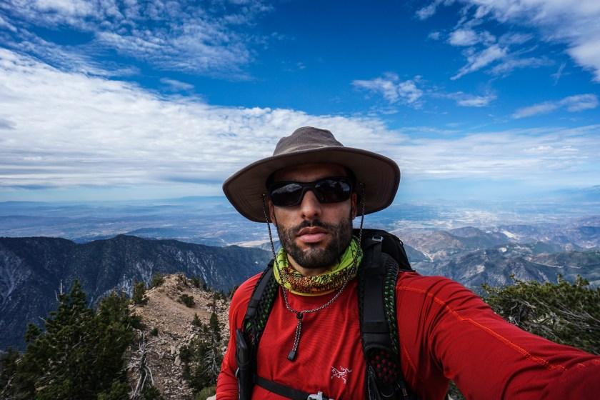 San Bernardino Peak via Angelus Oaks September 2015