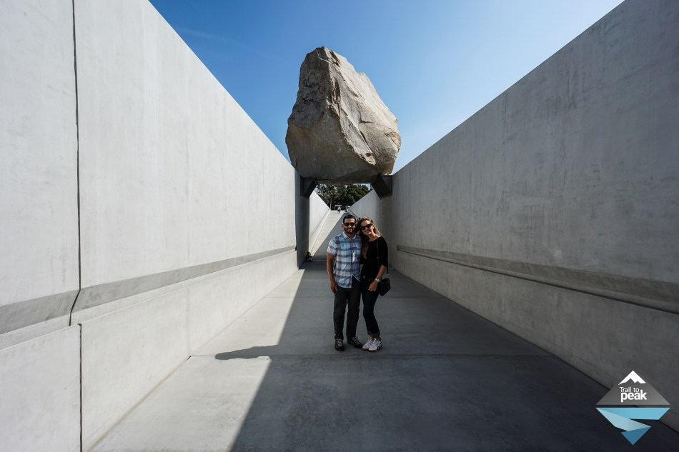 LACMA Los Angeles Levitated Mass