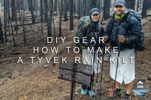 DIY Gear: Learn How To Make A Tyvek Rain Kilt (Skirt)