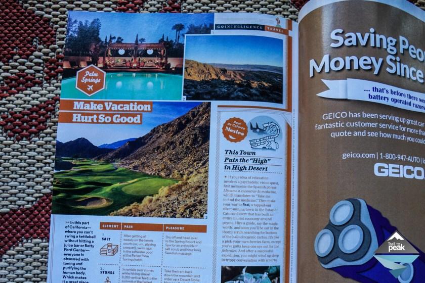 Trail to Peak GQ Magazine