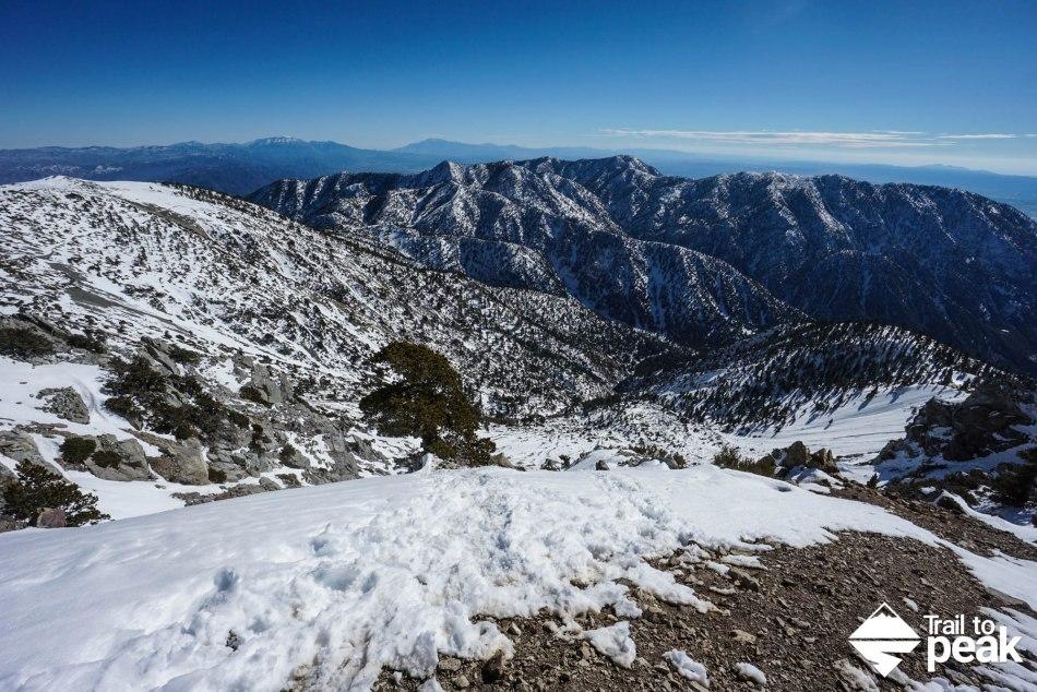 Winter Ascent Climb Hike Baldy Bowl Mt. Baldy Ski Hut Trail Guide