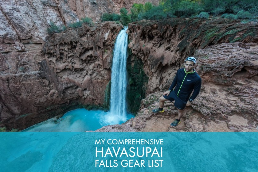 My Comprehensive Havasupai Falls Gear List