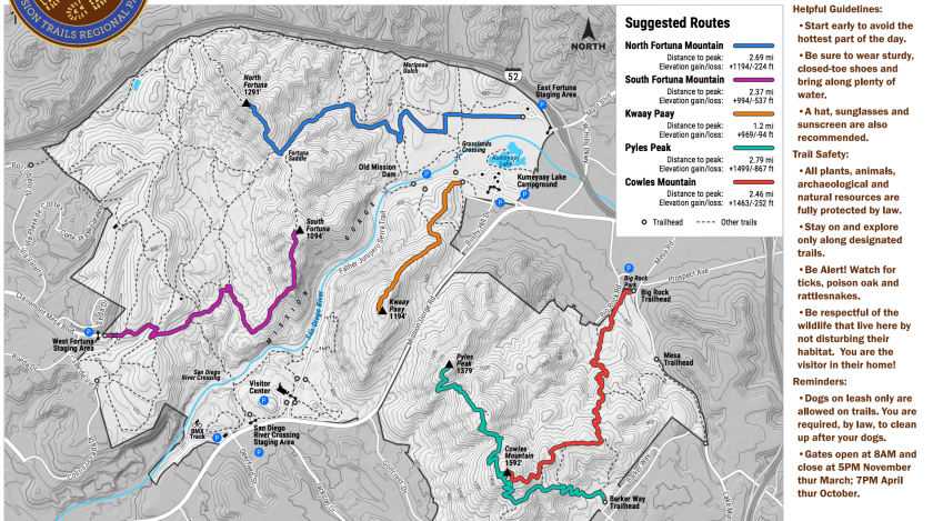 The 5 Peak Challenge Of Mission Trails Regional Park