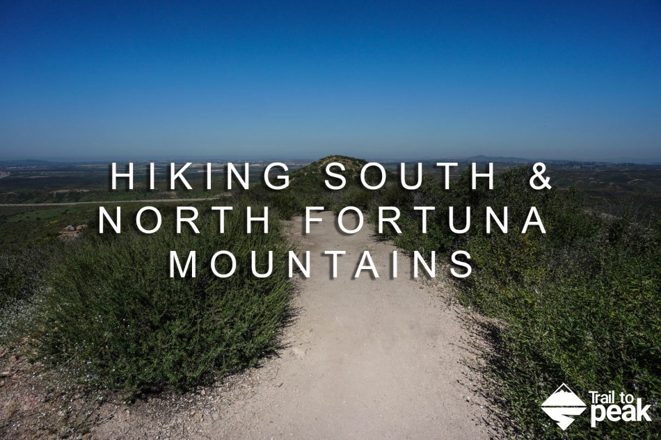 Hiking South Fortuna and North Fortuna 5 Peak Challenge Mission Trail Regional Park