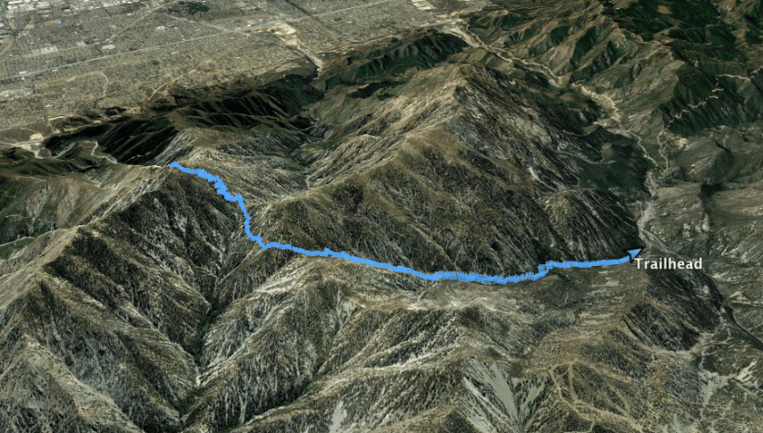 Hiking Cucamonga Peak via Icehouse Canyon Trail