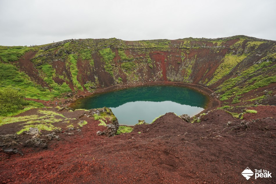 Driving Iceland's Golden Circle Kerið