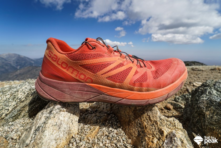plus de photos 8e267 a6c5f Gear Review: Salomon Sense Ride - Trail to Peak