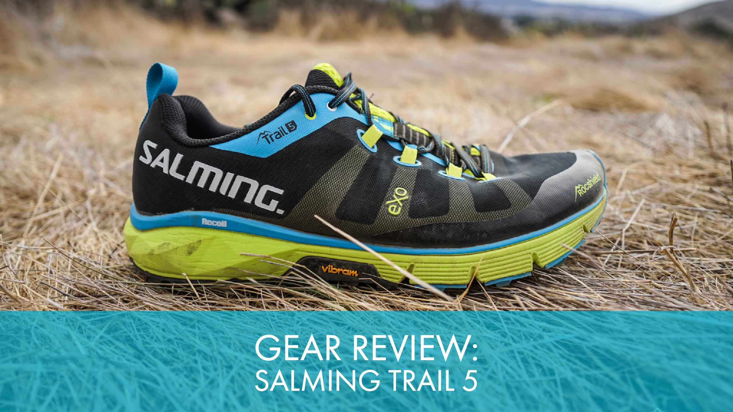 Gear Review: Salming Trail 5 - Trail to