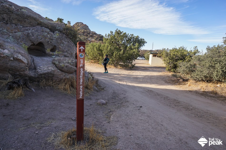 There is a lot to see and do at the Interpretive Center, so make sure to spend some time before or after this hike.