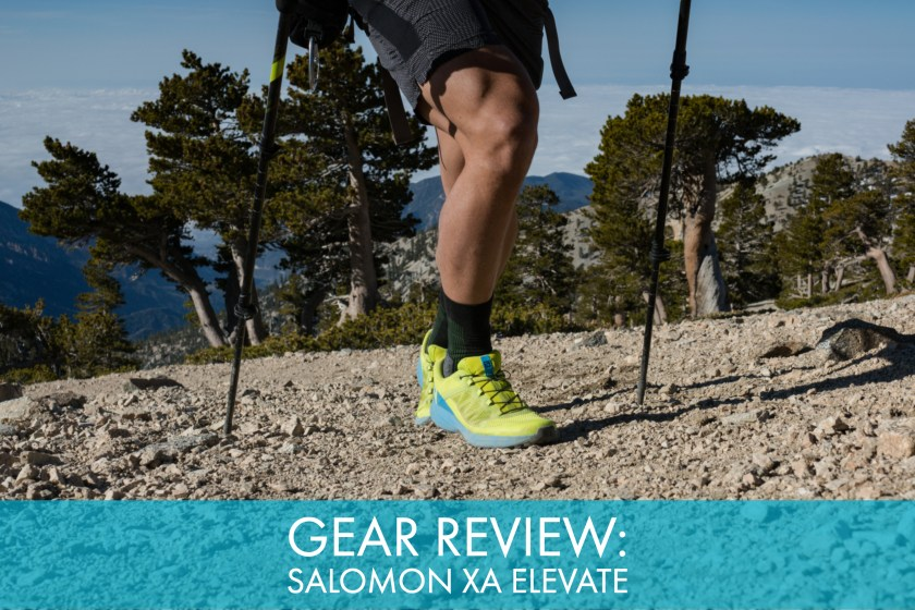 35b7ca6ec6487 Gear Review: Salomon XA Elevate Trail Shoe - Trail to Peak