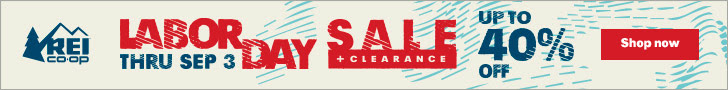 Huge Labor Day Sales At REI, Backcountry, and Moosejaw!