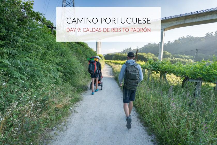 Camino Portuguese Day 9: Caldas de Reis to Padron