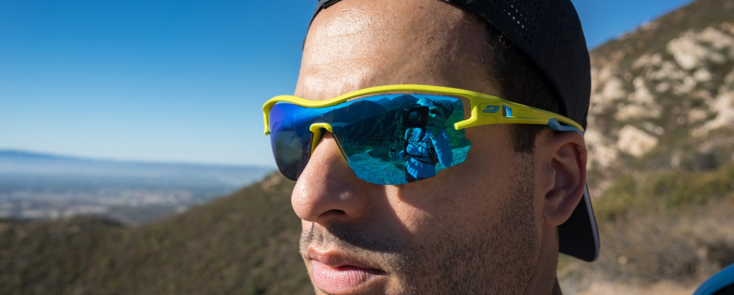 917925a4f54bae Gear Review  Julbo Aero Sunglasses - Trail to Peak