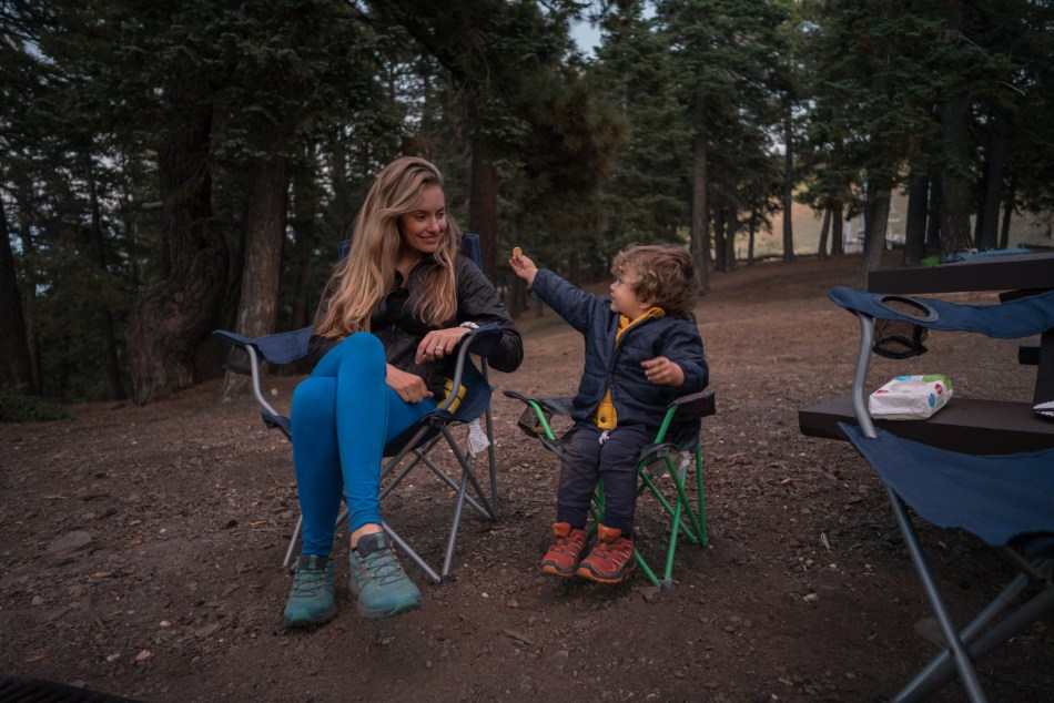 Camping And Hiking At Blue Ridge Campground In Wrightwood CA
