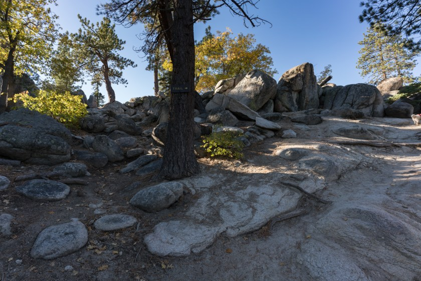 Hiking Castle Rock Trail - Big Bear, CA