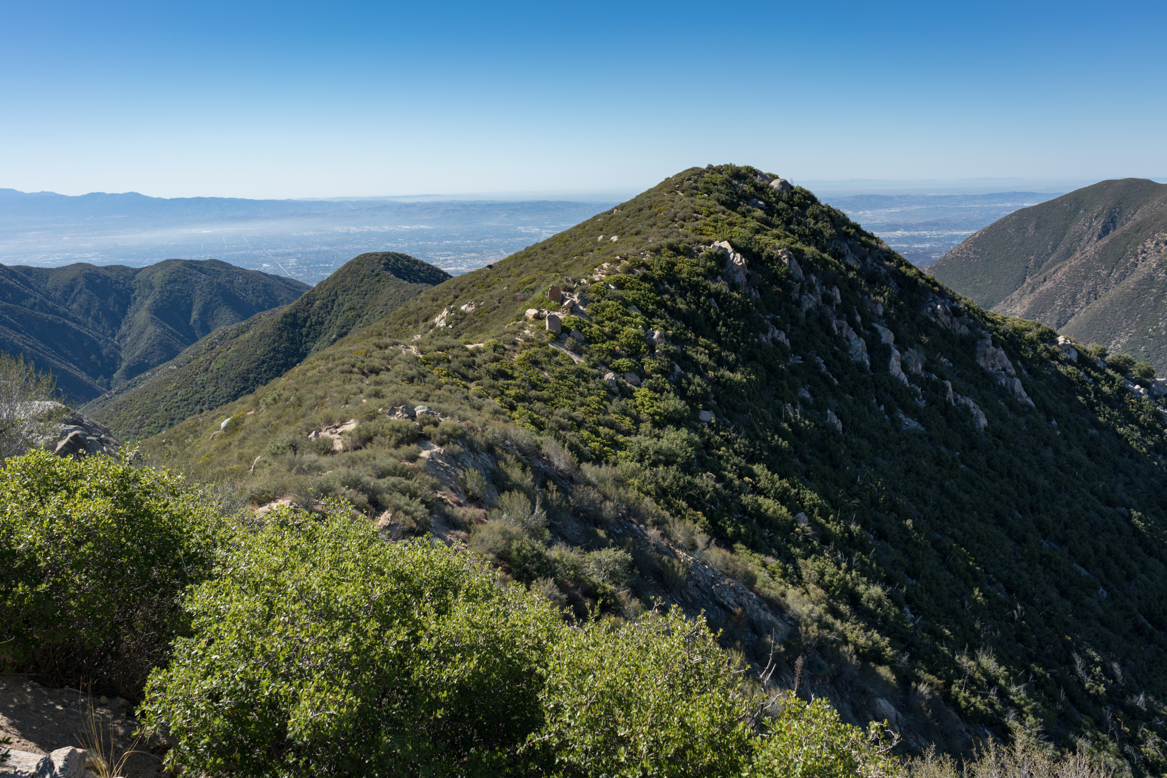 Hiking Stoddard Peak via Barrett Stoddard Road - Mt. Baldy, CA