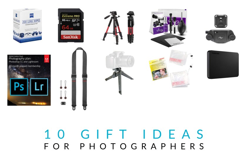 10 Great Gift Ideas For Photographers