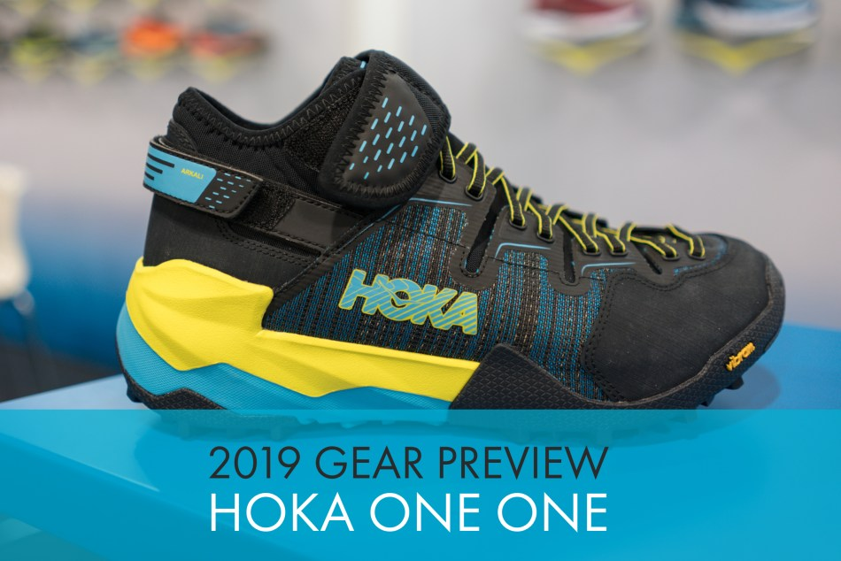 2019 Hoka One One Shoe Previews: Speedgoat 3, Mafate Evo 2, and Arkali