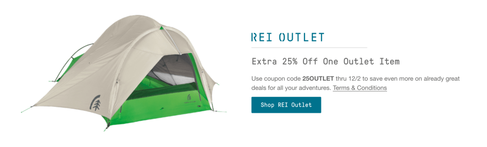 REI Cyber Week Deals Have Arrived! Save up to 40% on Salomon, Big Agnes, Osprey, and More!