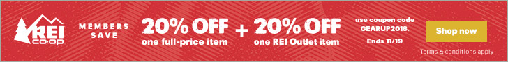 Don't Miss REI's Pre-Black Friday Gear Up Get Out Sale!