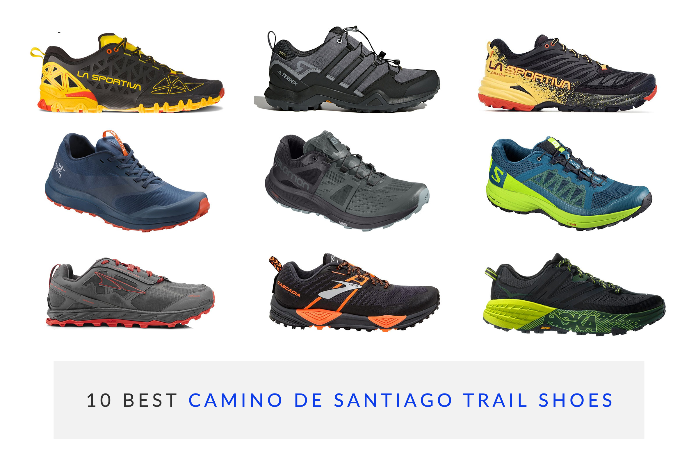 c36f9bf0a 10 Best Trail Shoes For Pilgrims Walking Camino De Santiago 2019 ...