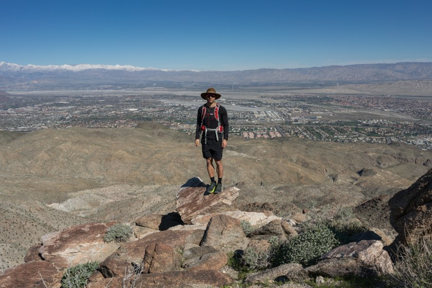 Hiking to Murray Hill (Peak) via Clara Burgess Trail - Palm Springs, CA