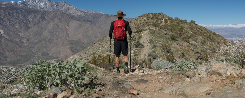 Hiking to Murray Hill (Peak) via Clara Burgess Trail - Palm Springs, CA