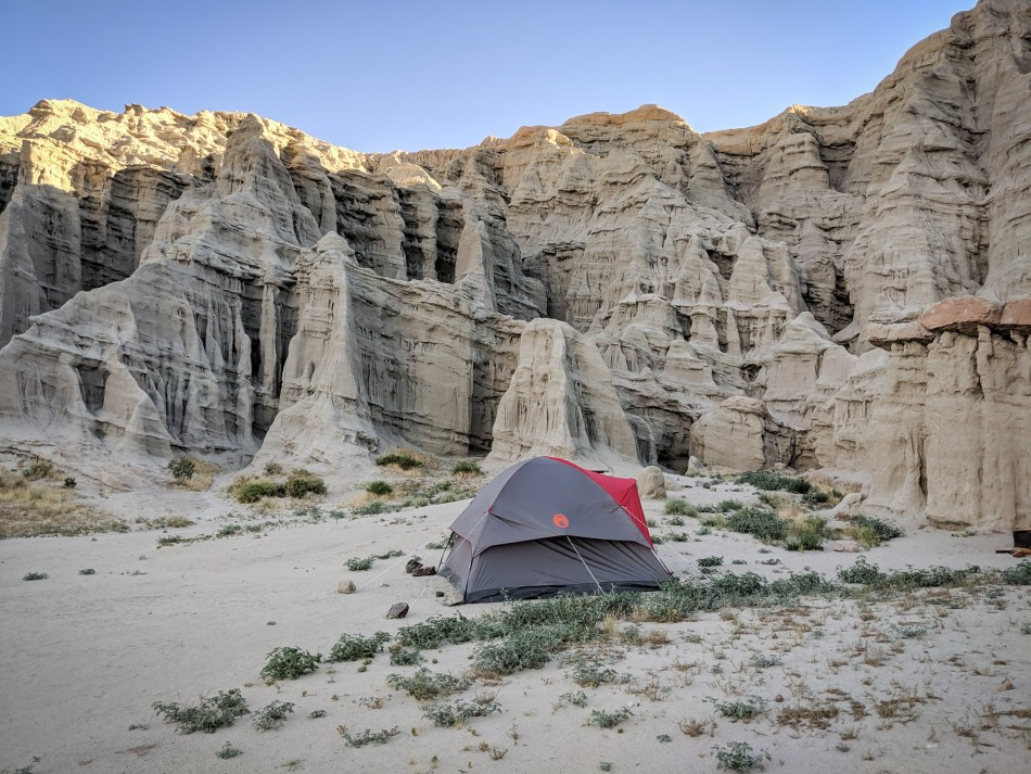 Camping at Ricardo Campground - Red Rock Canyon State Park