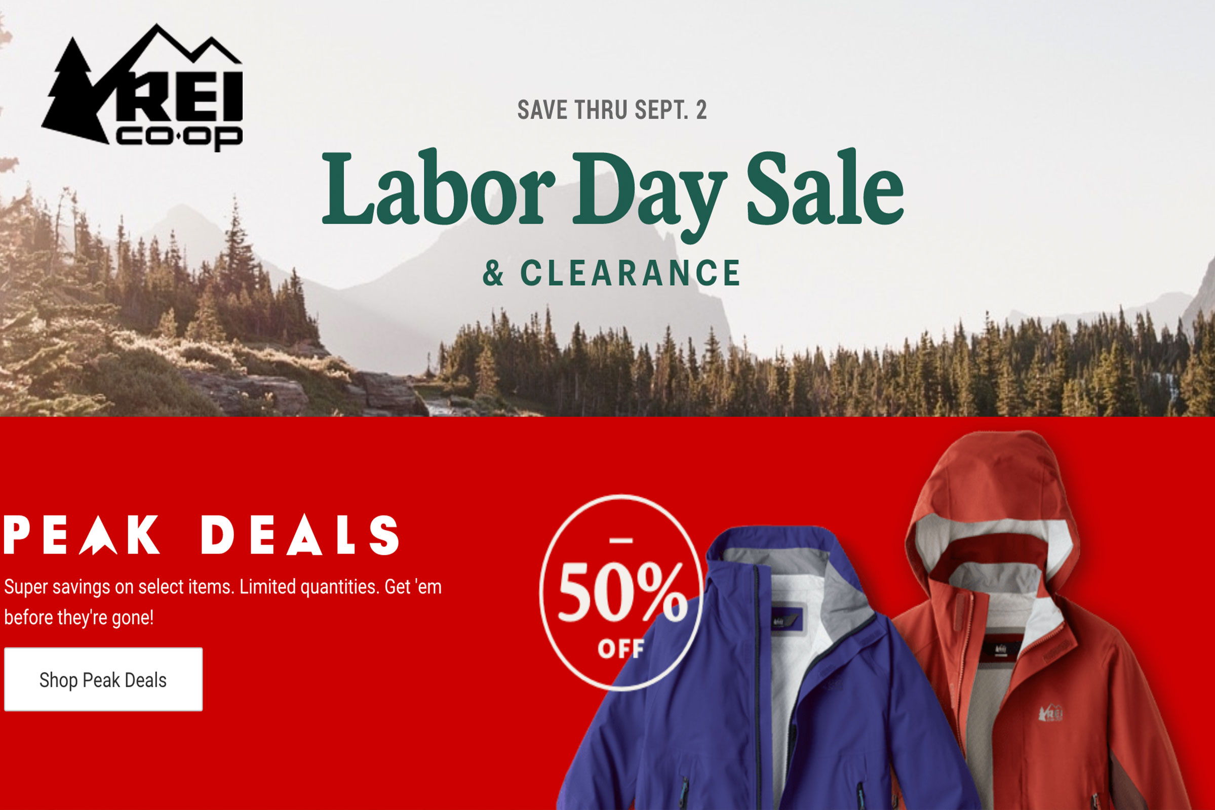 The REI Labor Day Sale And Clearance Event Is Here!