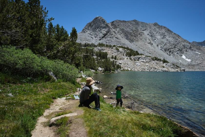 Hiking to Mono Pass via Mosquito Flat - Camping Overnight at Ruby Lake