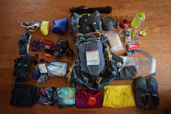 spring hiking gear