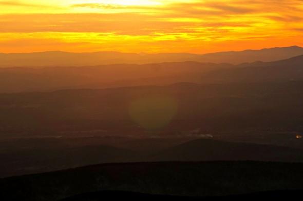moosilauke sunset