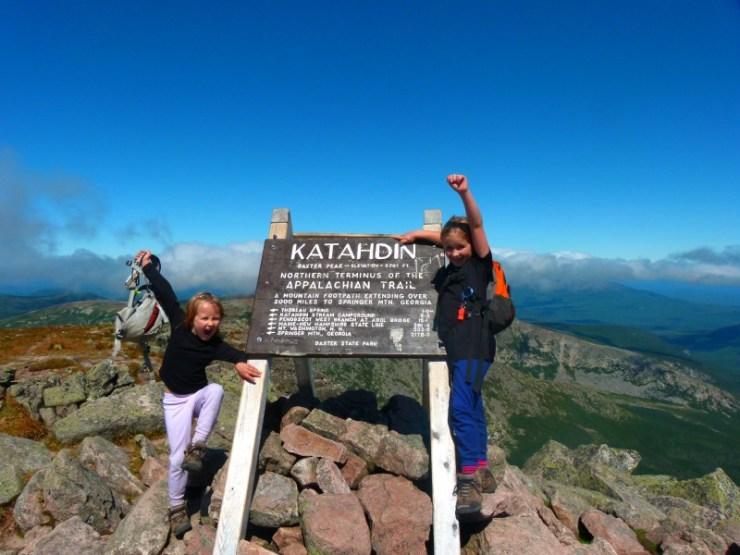 Katahdin, Sage and Alex, August 2011