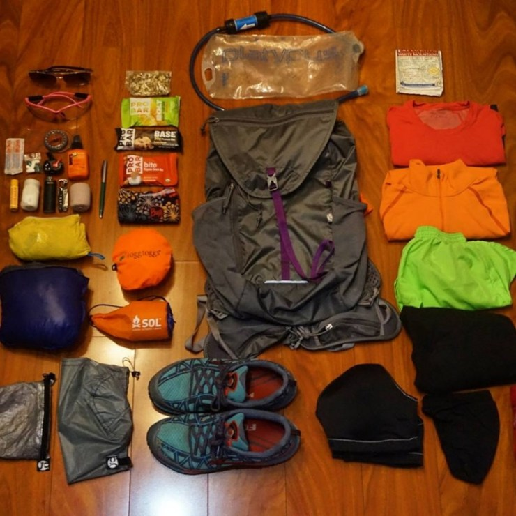 bushwhacking gear list