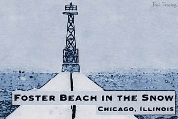 Foster Beach in the Snow